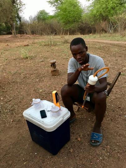 'Human bait' volunteers are helping beat malaria in Zambia